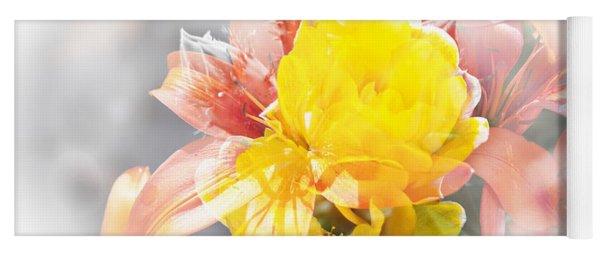 Flower Burst Yoga Mat