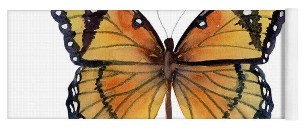 76 Viceroy Butterfly Yoga Mat