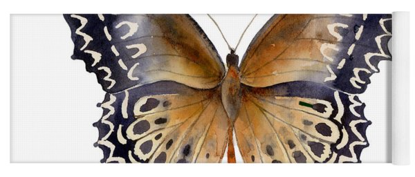 77 Cethosia Butterfly Yoga Mat
