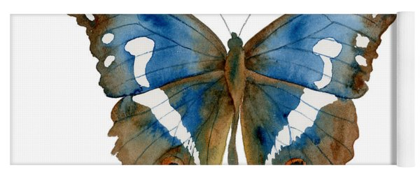 78 Apatura Iris Butterfly Yoga Mat