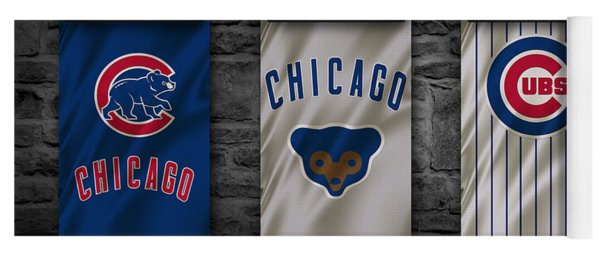Chicago Cubs Yoga Mat