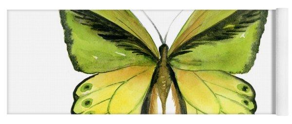 8 Goliath Birdwing Butterfly Yoga Mat