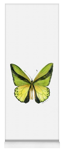 8 Goliath Birdwing Butterfly Yoga Mat