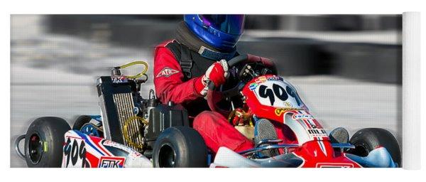 Racing Go Kart Yoga Mat