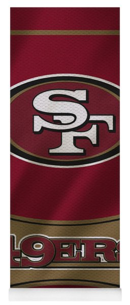 San Francisco 49ers Uniform Yoga Mat