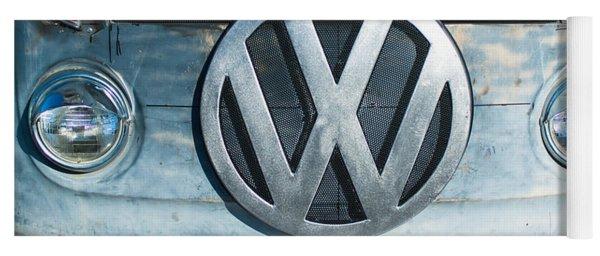 Volkswagen Vw Emblem Yoga Mat