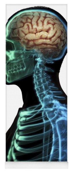Human Brain Yoga Mat