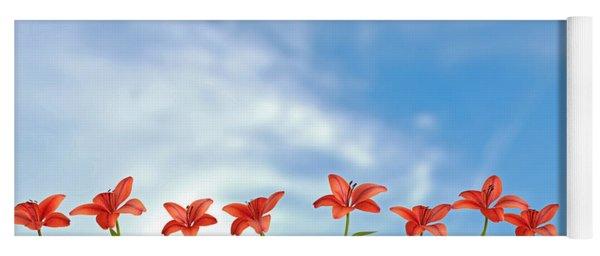 9 Lilies Yoga Mat