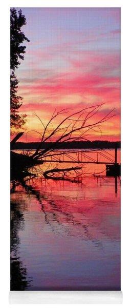 Sunset 9 Yoga Mat