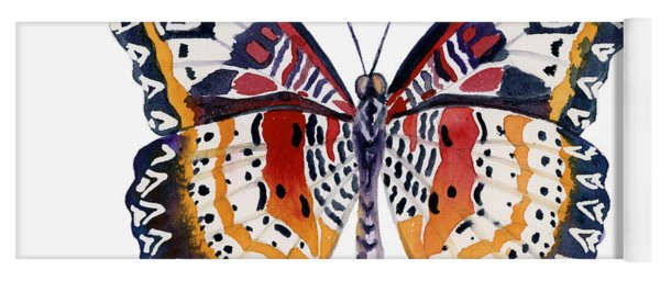 94 Lacewing Butterfly Yoga Mat
