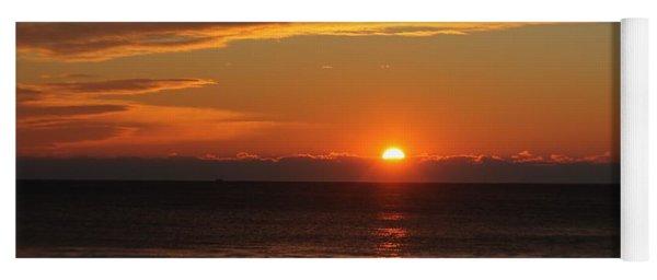 A Beach Life Sunrise Yoga Mat