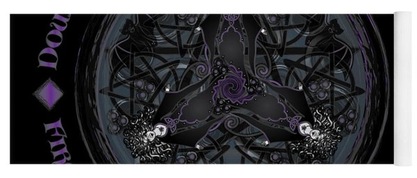 A Celtic Witches' Brew Yoga Mat