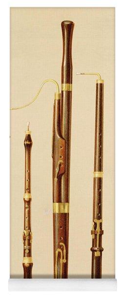 A Dulcian, An Oboe, A Bassoon Yoga Mat
