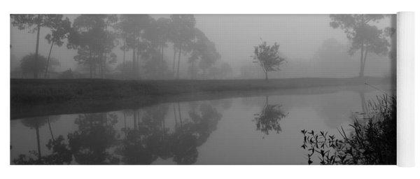 A Foggy Morning Yoga Mat