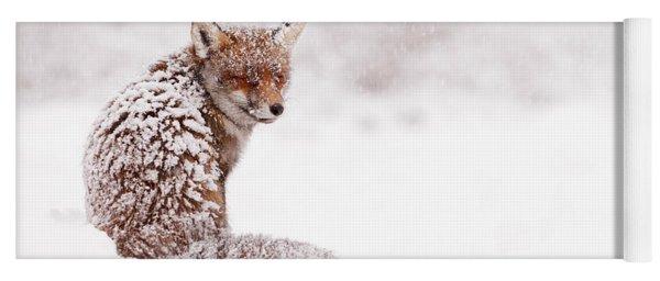 A Red Fox Fantasy Yoga Mat
