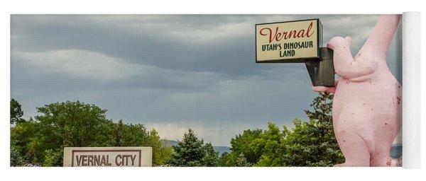 A Fun Welcome To Vernal Yoga Mat