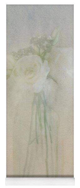 A Glimpse Of Roses Yoga Mat