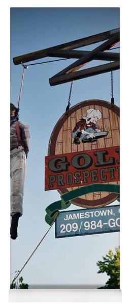A Hanged Man In Jamestown Yoga Mat