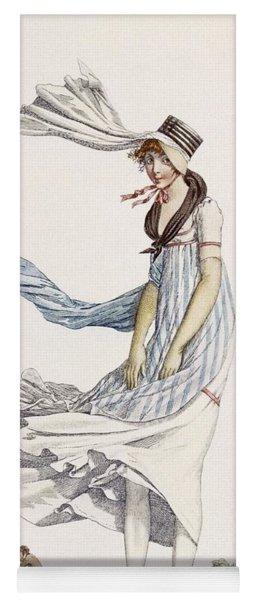 A Ladies Summer Promenade Dress, 1800 Yoga Mat