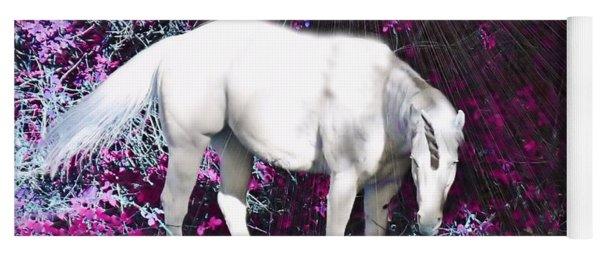 A Magical Unicorn In My Garden Yoga Mat
