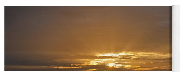 A New Day - Sunrise In Texas Yoga Mat