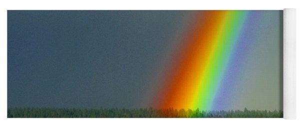 A Rainbow Blessing Spokane Yoga Mat