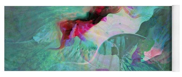 A Sacred Place - Abstract Art Yoga Mat