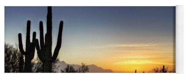 A Sonoran Sunrise  Yoga Mat