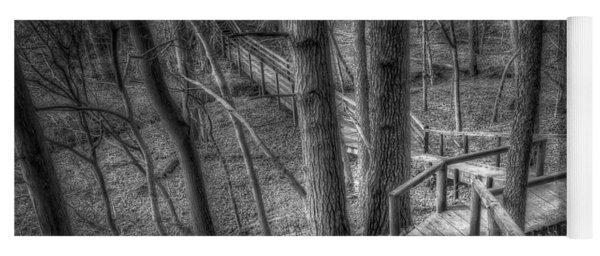 A Walk Through The Woods Yoga Mat
