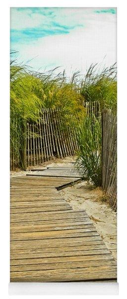 A Walk To The Beach Yoga Mat