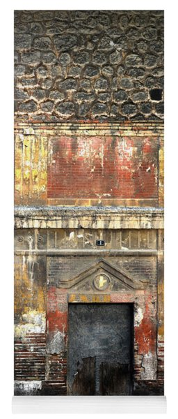 A Wall In Decay Yoga Mat