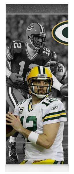 Aaron Rodgers Packers Yoga Mat