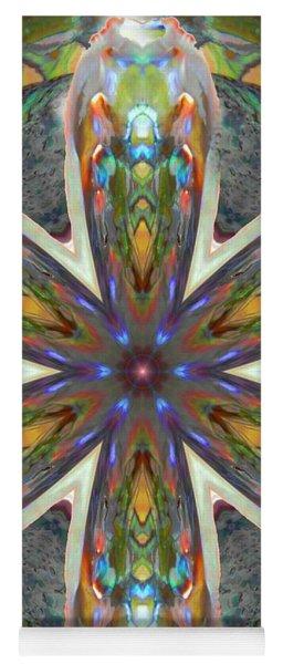 Abalone Christ Mandala Yoga Mat