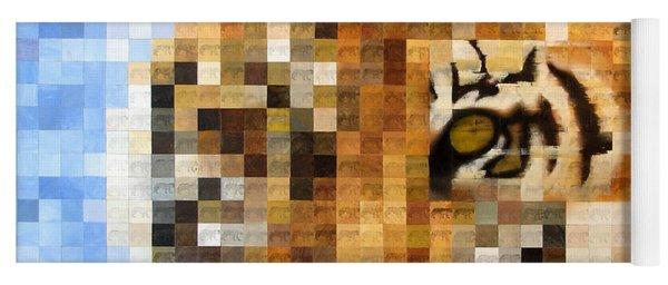 About 400 Sumatran Tigers Acrylic On Paper Yoga Mat