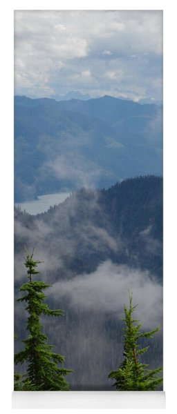 Above The Cloud Yoga Mat