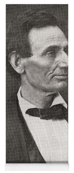 Abraham Lincoln, 1860 Yoga Mat