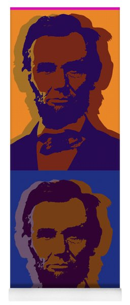 Abraham Lincoln Yoga Mat