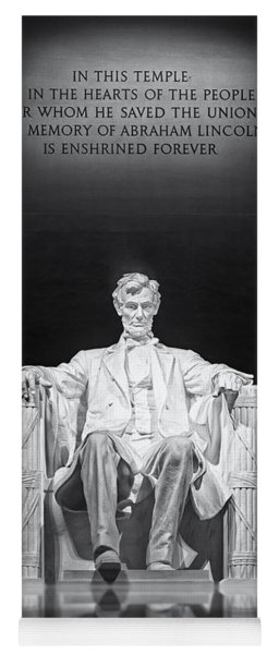 Abraham Lincoln Memorial Yoga Mat