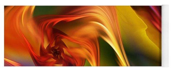 Abstract 031814 Yoga Mat
