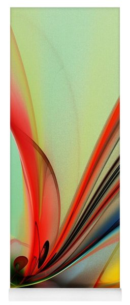 Abstract 040713 Yoga Mat