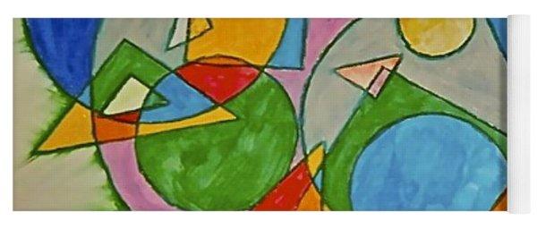 Abstract 89-001 Yoga Mat