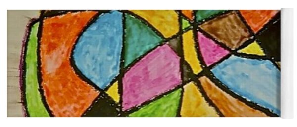 Abstract 89-002 Yoga Mat