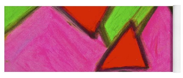 Abstract 92-002 Yoga Mat