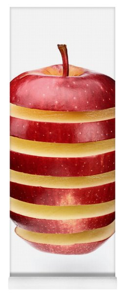 Abstract Apple Slices Yoga Mat