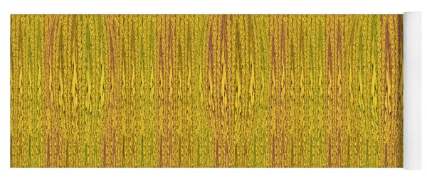 Abstract Autumn Forest Yoga Mat