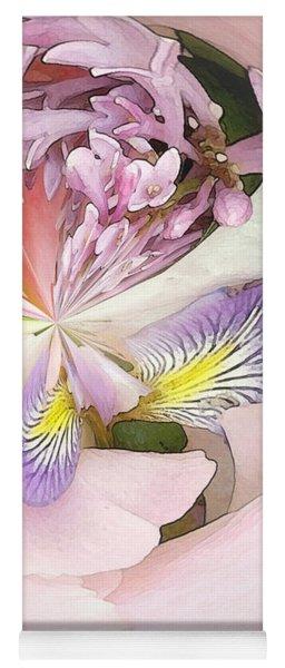 Abstract Bouquet Yoga Mat