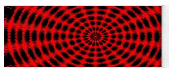 Abstract Circle Yoga Mat