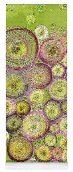 Abstract Grapes Yoga Mat