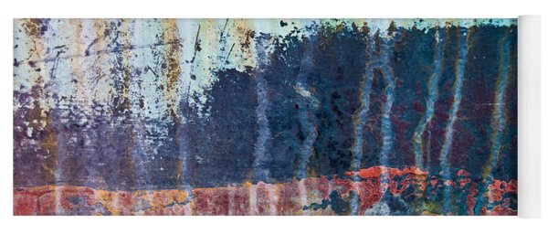 Abstract Landscape Yoga Mat