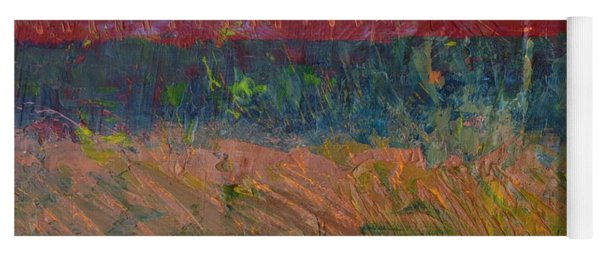 Abstract Landscape Series - Lake And Hills Yoga Mat